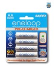 Sanyo Eneloop 8x AA 1500 Cycle Rechargable Battery Pack @ $26.90 Incl. Free Postage