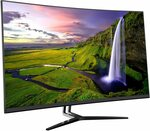 "AstiVita 31.5"" Curved Gaming VA Monitor - 2560x1440 Frameless 75Hz $323.10 Delivered @ AstiVita Amazon AU"