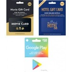 Earn 2000 FlyBuys Points with One Purchase of $50 Google Play / The Movie / The Hotel Gift Cards @ Coles