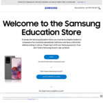 30%+ off Mobility Range (E.g. Galaxy Bud+ & ULC Battery Pack $200.60, A30 $215.30 with Newsletter Signup) @ Samsung Education
