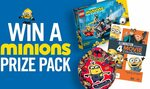 Win 1 of 3 Minions Merchandise Packs from Seven Network