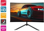 """[Pre Order] Kogan 27"""" Curved Full HD 240hz FreeSync Gaming Monitor (1920 × 1080) $349 + Freight (Free with First) @ Kogan"""