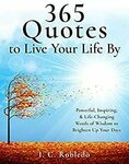 """[eBook] Free: """"365 Quotes to Live Your Life By"""" (Powerful, Inspiring, & Life-Changing Words of Wisdom) $0 @ Amazon AU, US"""
