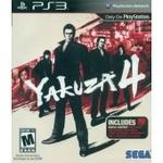 Yakuza 4 PS3 PlayAsia US $17.90+$4.90 SHIPPING ~ $22 AUD