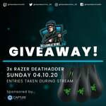 Win 1 of 3 Razer Deathadder Essential Mice Worth $94.95 from DeanMachine_90