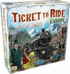 [Prime] Ticket to Ride Europe Board Game $38.47 Delivered @ Amazon US via AU
