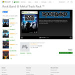 [XB1] Free DLC Songs for Rock Band 4 - Metal and Country Track Packs from Xbox.com