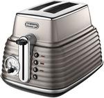 DeLonghi Scultura 2 Slice Toaster Beige CTZ2003BG $65 Delivered @ Myer