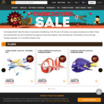 Up to 60% off selected items: Thanksgiving Day Sale @ HobbyKing Australia