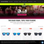 Buy 1 Pair of Sunglasses, Get 2 Free @ Hawkers
