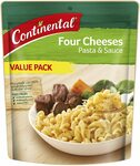 CONTINENTAL Pasta & Sauce Four Cheeses 170g $1.87 ($1.68 S&S) + Delivery ($0 with Prime/ $39 Spend) @ Amazon AU