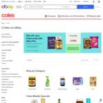 [eBay Plus] Coles 10% off on eBay (Max $100 Discount)