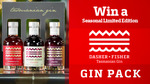 Win 1 of 5 Limited Edition Dasher + Fisher Seasonal Gin Gift Packs Worth $85 from Seven Network