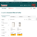 Two Types of Euromatic White Air Purifiers $20 each @ Bunnings (Free C&C from NSW/VIC/ACT/TAS Only)