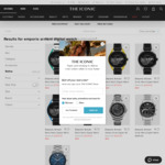 Emporio Armani Gen 5 Smartwatch $179 (Was $649) Delivered @ The Iconic