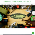 4 Free Survival Blankets (with Orders over $50) @ Survival Storehouse