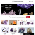 75% off Selected Jewellery Items - Minerals, Stones & Crystals + Delivery @ Unique Crystals & Stones