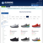 40.5% off Select Hoka One One Shoes + $5 Shipping @ Running Warehouse