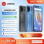 "UMIDIGI A11 (Android 11, 6.53"", 4GB/128GB, 4G B28, IR Thermometer) US$115.49 (~A$147.69) Delivered @ UMDIGI AliExpress"