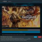 50 Free Primogems for Genshin Impact @ Crucial Games