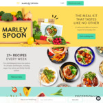 $15 off @ Marley Spoon (New & Existing Customers)