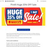 35% off Pirelli Tyres @ Bob Jane T-Marts