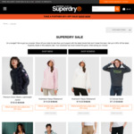 Extra 20% off Outlet Items + $7.95 Shipping (Free with $50 Spend) @ Superdry in Store or Online
