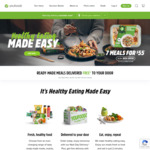 9 Meals for $49 Delivered ($5.44 each) @ Youfoodz (Recurring Orders - Cancel Anytime)
