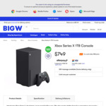 [QLD] Xbox Series X Console $749 Pickup @ BIG W (North Lakes, Springfield Lakes, Garden City, Chermside Stores Only)