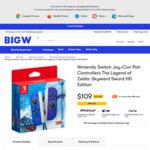 The Legend of Zelda Skyward Sword Joy-Cons $109 + Delivery ($0 C&C/ in-Store) @ BIG W