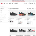 Up to 70% off Clearance Items, Extra 10% off with Code + $10 Delivery ($0 with $100 Spend) @ New Balance