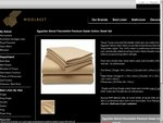 Egyptian Blend Flannelette Premium Grade Cotton Sheet Set $10 down from RRP $139.95
