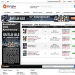 Battlefield 3 Origin PC $20 & Other Battlefield Titles Discounted