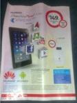 Huawei MediaPad 7 Lite + Free Telstra Elite Pre-Paid Mobile WiFi incl. 5GB Data for $149 @ Coles