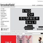 50% off Everything! Brooksfield + Free Shipping - Online Only