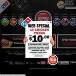 Domino's - Any 3 Pizzas + Cheesy Garlic Bread + 1.25l Coke Delivered $29.95