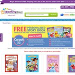 Free Personalised Story Book with 3 Purchases of Specially Marked Curash Products