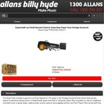 Epiphone Les Paul Electric Guitar and Amp Package, Free Shipping $199 - Allans Billy Hyde