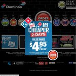Domino's - Chefs Best Pizzas $6 Pick up