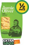 50% off: Jamie Oliver Pasta 500g $1.32 (EDR Card) @ Woolies