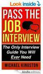 eBook- Pass The Job Interview: The Only Interview Guide You Will Ever Need