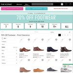 Lucky Last Pairs: 70% off Shoes The Iconic