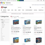 Selected Lego at Target eBay Almost 40% off (P&H Free over $75)