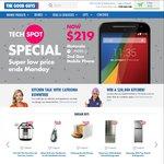 Motorola Moto G 2nd Gen $219 + Bonus $20 Store Credit @ The Good Guys