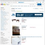 eBay $24.90 off $125+ in Home&Garden Category (Tools, Home Furniture, Home Security, etc)