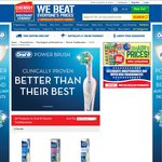 Half Price Oral B Electric Toothbrushes at Chemist Warehouse Now $22.39