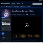 PS4 Terraria $7.91 Don't Starve $8.39 @ PlayStation Store - PS Plus Required