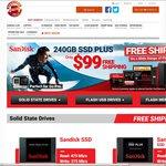 Shopping Express SanDisk Sale- Ultra II SSD 480GB ($225), Ultra 64GB MicroSDXC ($35.95) + More