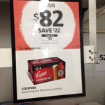 Coopers Sparkling Ale 2 Cartons for $82 @ First Choice - Unley, SA