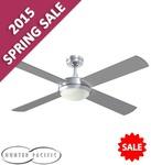 """Hunter Pacific Intercept Ceiling Fan 52"""" with Halogen Light - $115 @ Fans on Sale"""